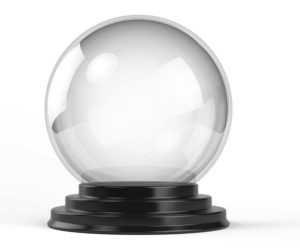 Crystal Ball representing marketing strategy and planning