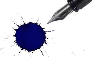 Pen and ink representing copywriting