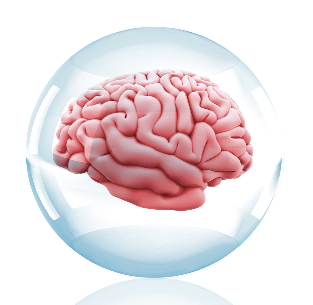 Brain in glass sphere - 75 percent of marketing decisions based on psychological experiments may be flawed