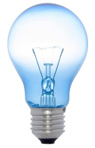 Blue-light-bulb-representing-thought-leadership