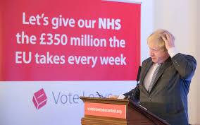 £350m a week into the NHS