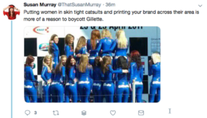 Tweet from Susan Murray