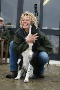 Saffy and Kate Humble